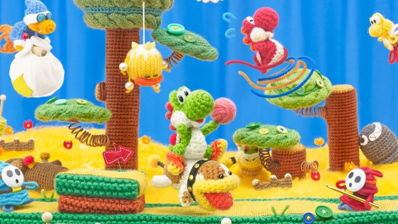 Yoshi's Wooly World is adorable but can't match Yoshi's Island's brilliance