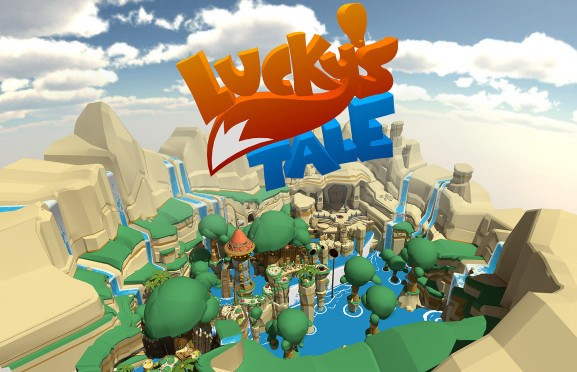 Watch us play Lucky's Tale in virtual reality with the Oculus Rift