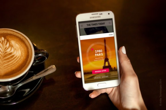 Adtile is using phone physics to reimagine mobile ads