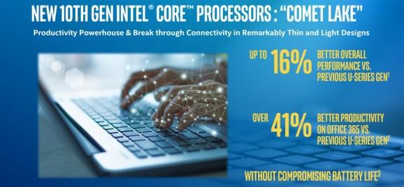 Intel unveils 10th Gen Comet Lake laptop processors