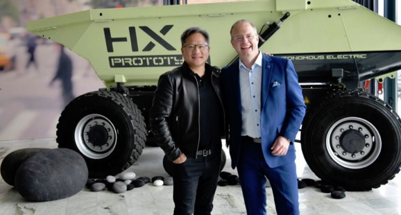 How Nvidia and Volvo plan to drive the autonomous truck industry