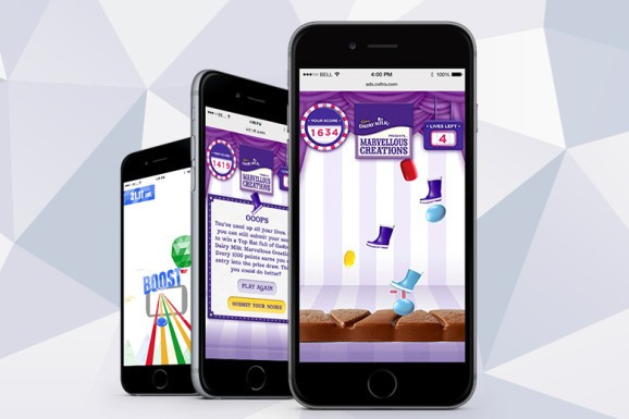 Turning mobile ads into games helps them perform better
