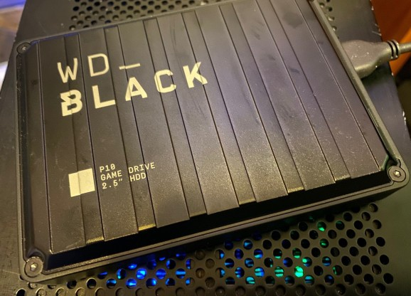 Western Digital's WD Black is a life saver when it comes to storing games and videos