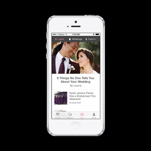 Hitched to viral content, wedding startup Loverly arrives on Android