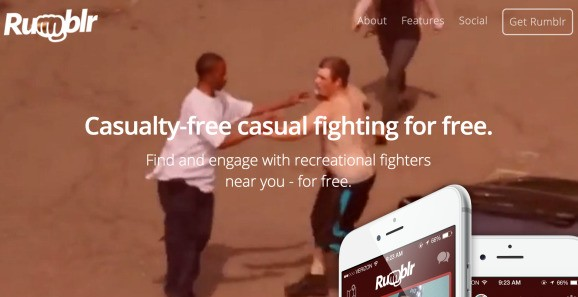 Rumblr is not a dating app for fistfights (Updated)