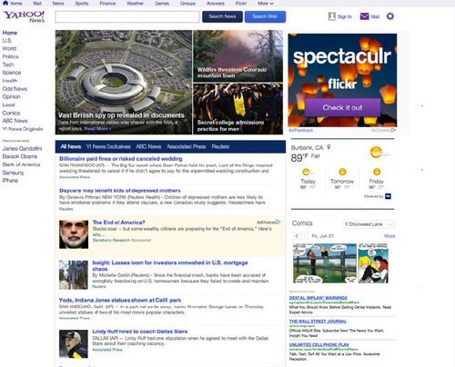 Yahoo News gets a major overhaul and better news curation