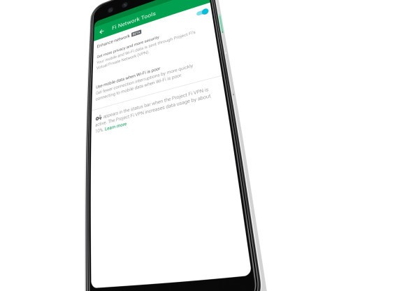 Google launches 'enhanced network' for Project Fi with VPN for all connections