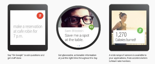 Google launches Android Wear: A new project to bring Android to wearables like smartwatches