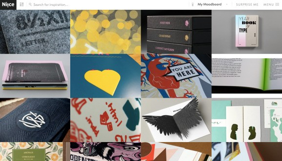 Meet Niice, a hip site that spouts images for the designer in you