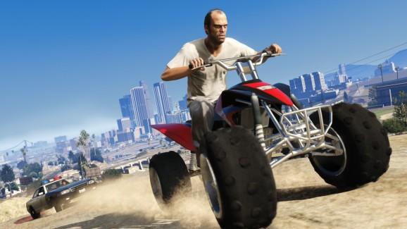 Grand Theft Auto V for next-gen consoles hits stores Nov. 18