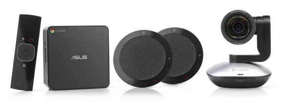 Google enhances Chromebox for meetings with remote-control camera, better screensharing