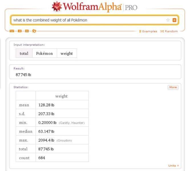 Wolfram Alpha uses math to sketch Pokémon and turns iPhone's Siri into a real Pokédex