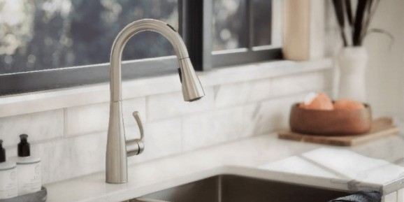 Moen's new kitchen faucet works with Alexa and Google Assistant