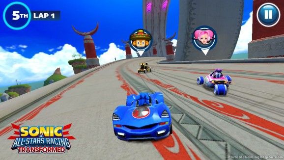 Sega releases Sonic and All-Stars Racing Transformed on iOS and Android