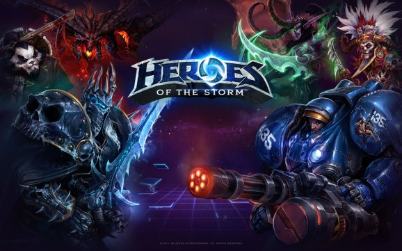 Blizzard's Heroes of the Storm MOBA begins open beta