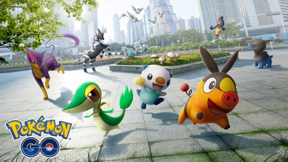 Pokémon Go adds critters from Black and White's Gen 5 roster