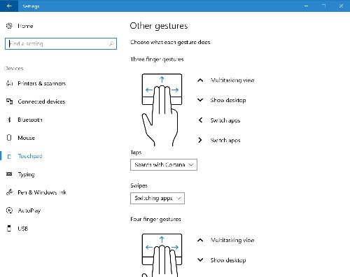 Microsoft releases new Windows 10 preview with finger gesture customizations, new Wi-Fi option