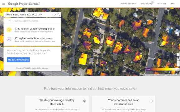 Google's Project Sunroof now shows solar potential in all 50 states