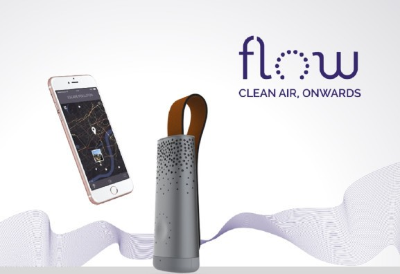 Plume Labs' Flow tracks the air quality indoors and outdoors