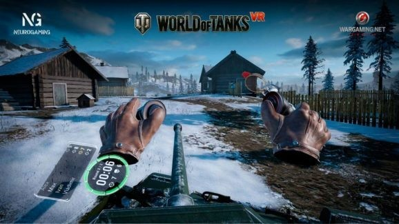 World of Tanks VR blasts into SynthesisVR arcades on September 13