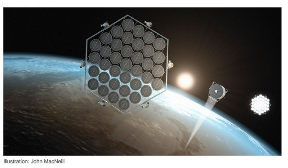Japan wants to build a space-based solar energy farm