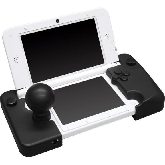 Another Smash Bros. option? This beast of an arcade stick clamps straight on to your 3DS XL