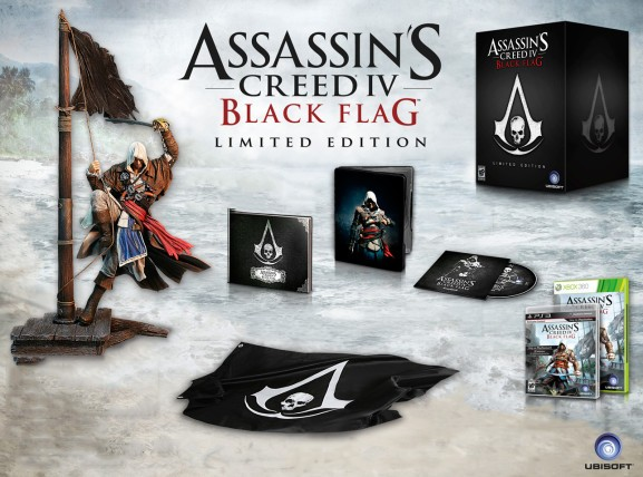 Ubisoft reveals the booty in Assassin's Creed IV: Black Flag Limited Edition