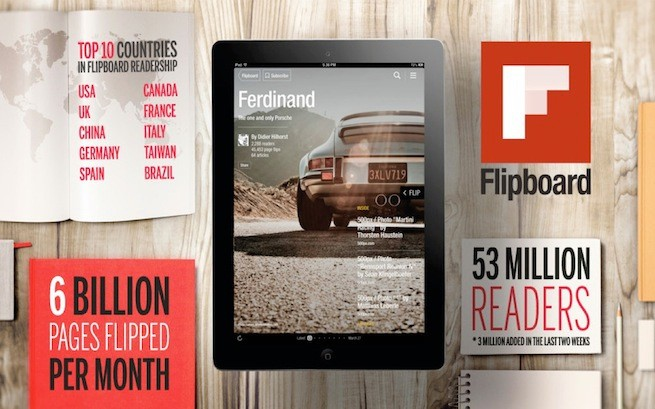 Half a million Flipboard magazines created in the last two weeks