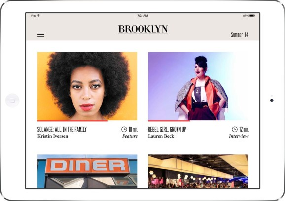 Offline Magazine opens up its slick iOS platform to publishers — starting with Brooklyn Magazine
