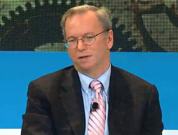 Google chairman calls NSA's spying efforts 'outrageous'