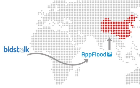 AppFlood teams with Bidstalk to monetize mobile apps in China