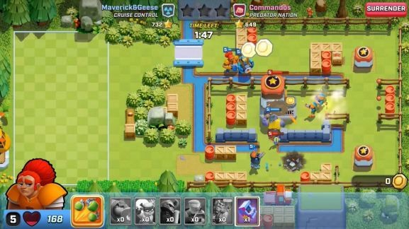 Supercell shuts down Rush Wars after players shrug