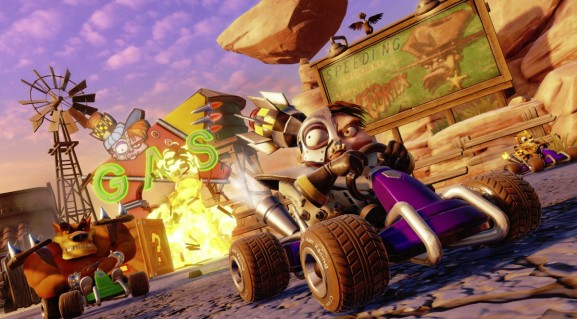 Crash Team Racing is back on top of the U.K. sales chart
