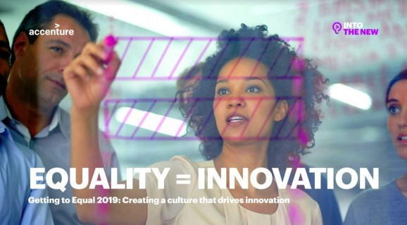 Accenture: Culture, equality, and diversity are critical to innovation