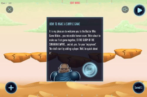 BBC launches Doctor Who Game Maker to help teach principles of game design
