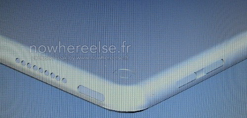 Leaked 'iPad Pro' image shows holes for stereo speakers