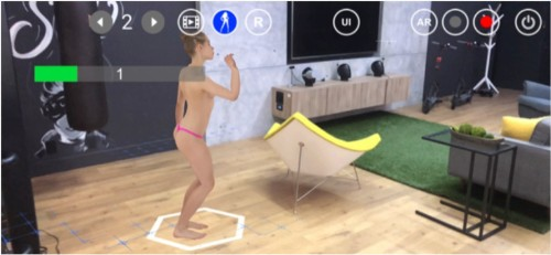 Augmented reality porn arrives on Android with animated human bodies