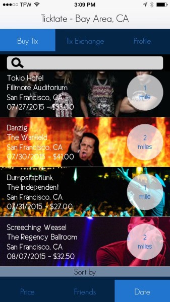 Ticktate cuts out Ticketmaster to save you money on concert tickets