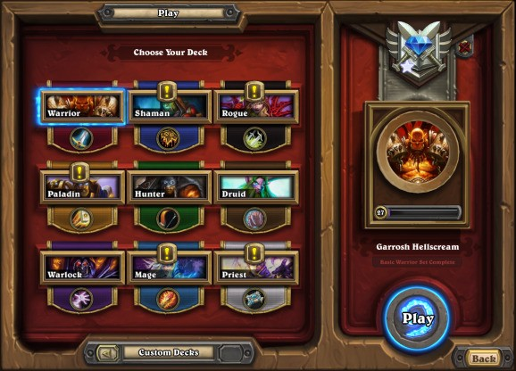 Hearthstone designer says Blizzard is working on adding more deck slots