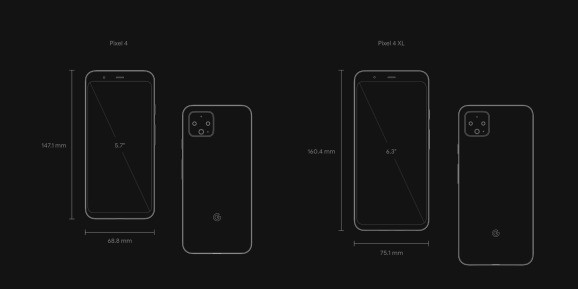 Pixel 4 and Pixel 4 XL specs: What Google changed