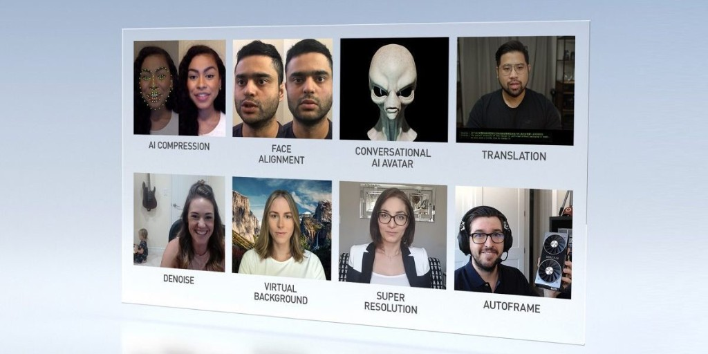 Nvidia unveils Maxine, a managed cloud AI videoconferencing service