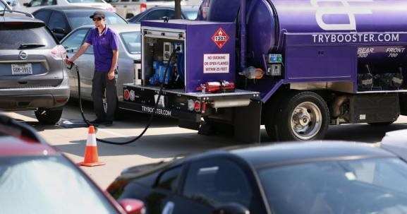 Booster raises $56 million to deliver fuel directly to cars