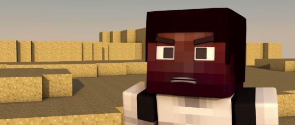 Minecraft meets the 'Star Wars: Episode VII' trailer