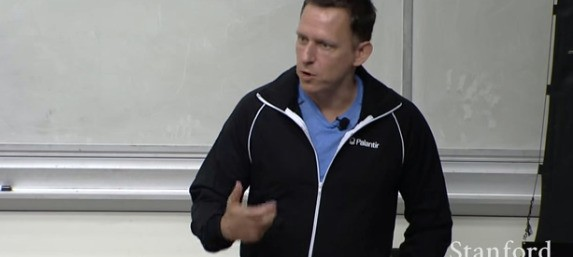 How Peter Thiel teaches Stanford students to create billion-dollar monopolies (in 3 quotes)