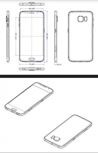 New leak shows Samsung Galaxy S6 is as thin as the iPhone 6