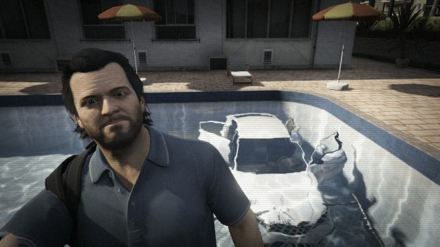 18 awesome selfies from Grand Theft Auto V