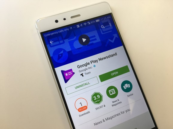 Google Play Newsstand starts showing Accelerated Mobile Pages on Android and iOS
