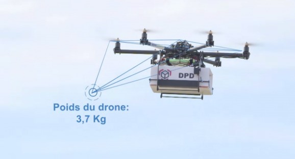 France's postal service is testing delivery by drones