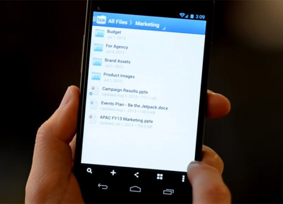 Box polishes its Android app with better navigation, account switching, and more