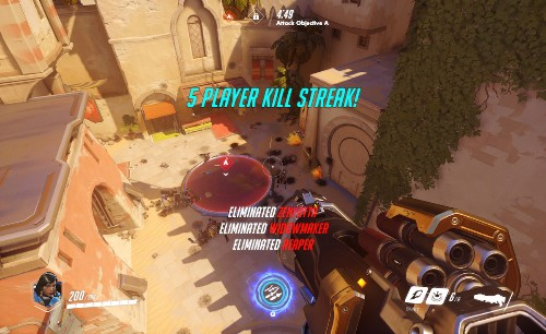 Overwatch: What 10 rounds of Blizzard's chaotic shooter taught me